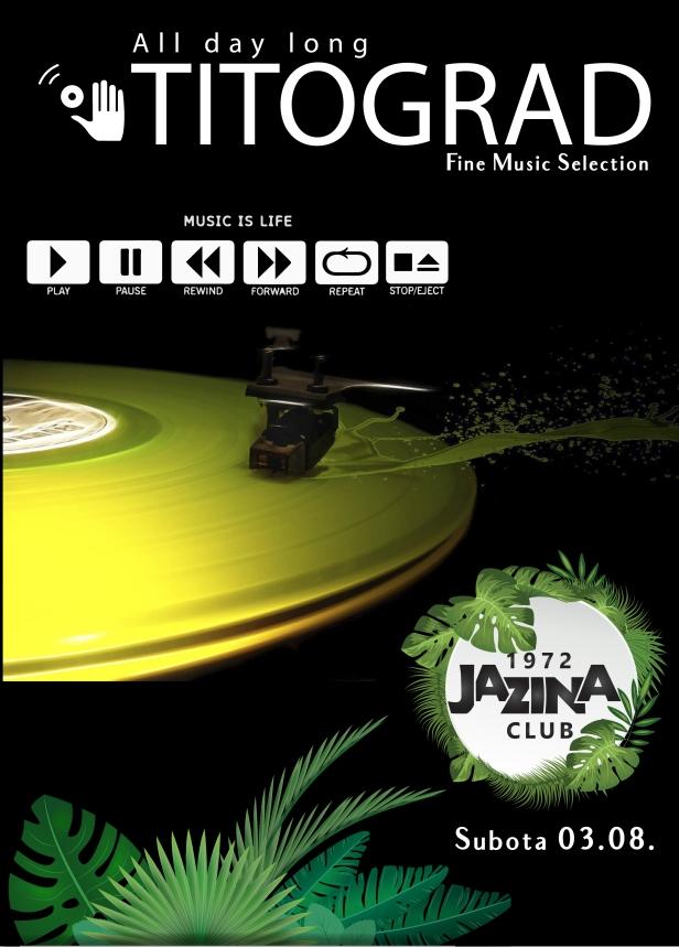 PLAKAT JAZINA mUSIC IS A LIFE-01